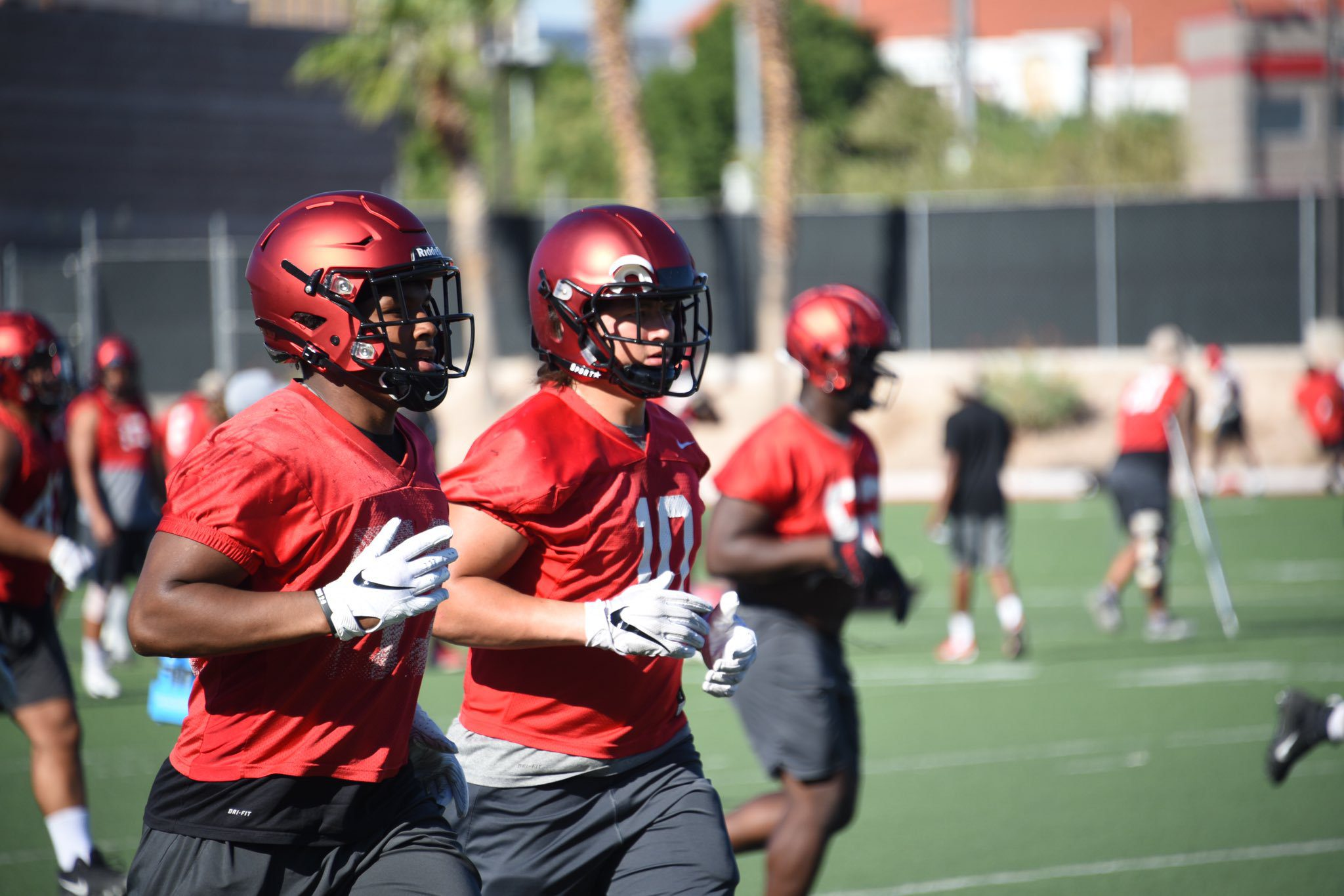 UNLV Expects Big Things From LB Duo of Hester and Viramontes
