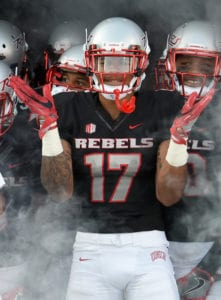 1 Day at a Time for UNLV Safety Evan Austrie