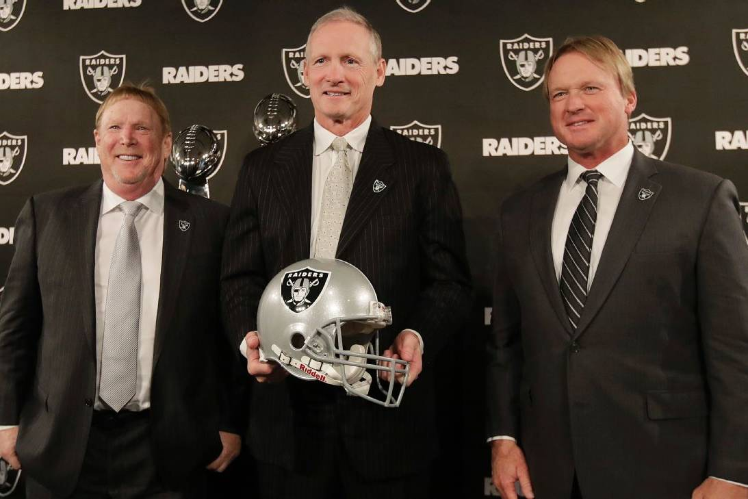 Las vegas Raiders, Jon Gruden, Mike Mayock