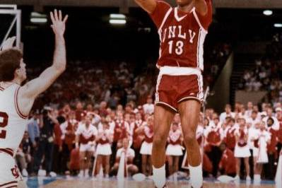 UNLV Runnin' Rebels- Should Retire Freddie Banks 13