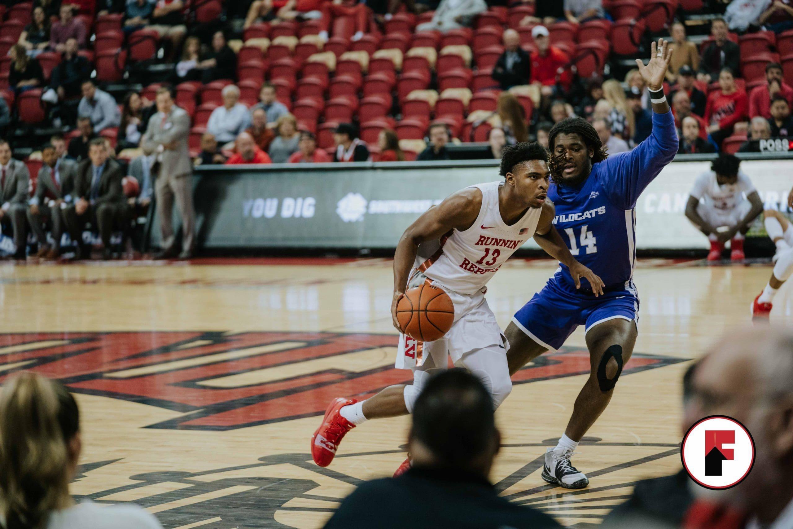 runnin Rebels vs Utah State basketball