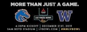 New Game Preview: The Final Mitsubishi Las Vegas Bowl at Sam Boyd Stadium - 2019