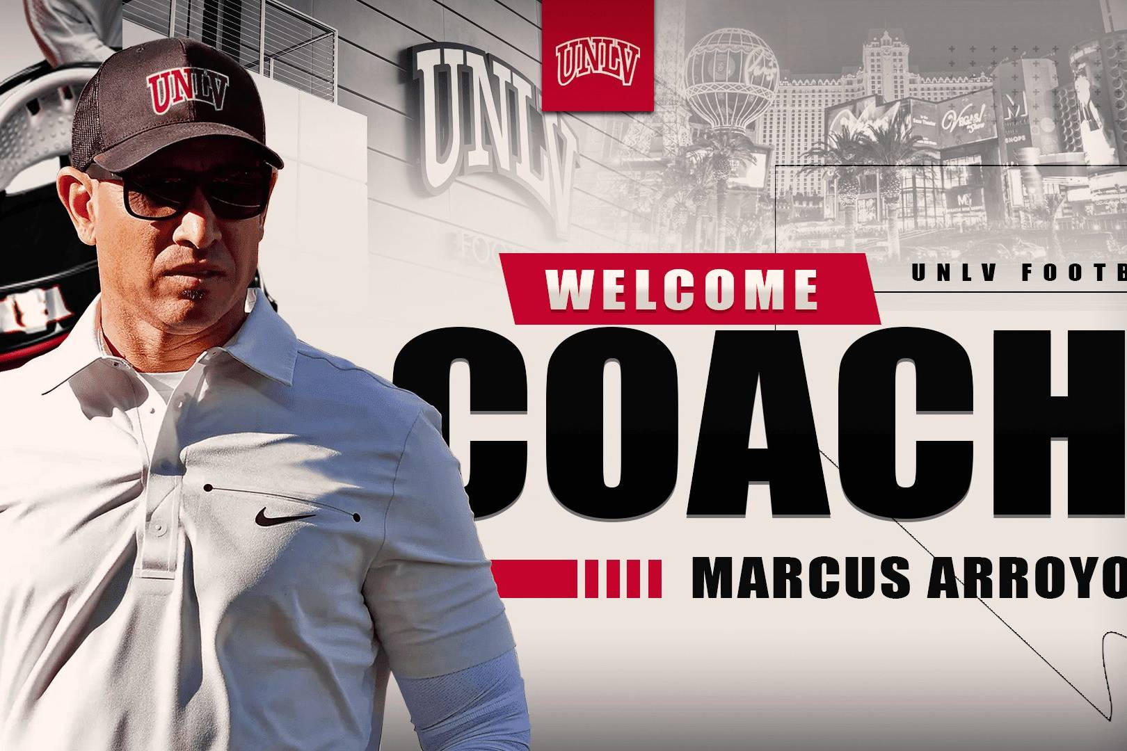 UNLV Adds Swag With Marcus Arroyo