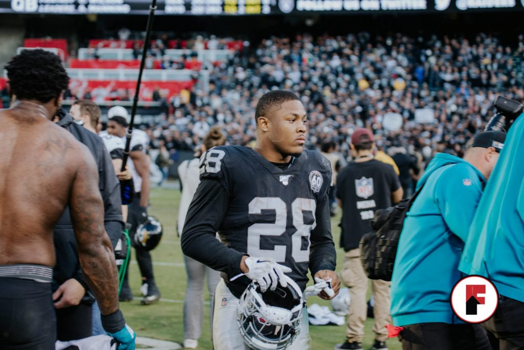 silver and black Josh Jacobs