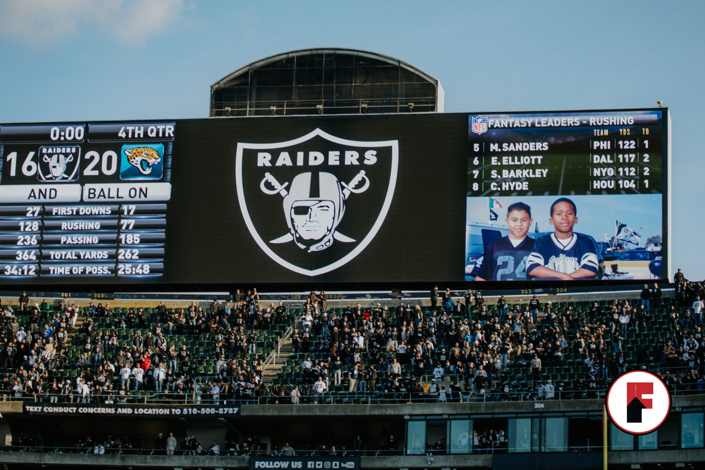Raiders Last Game in Oakland-71
