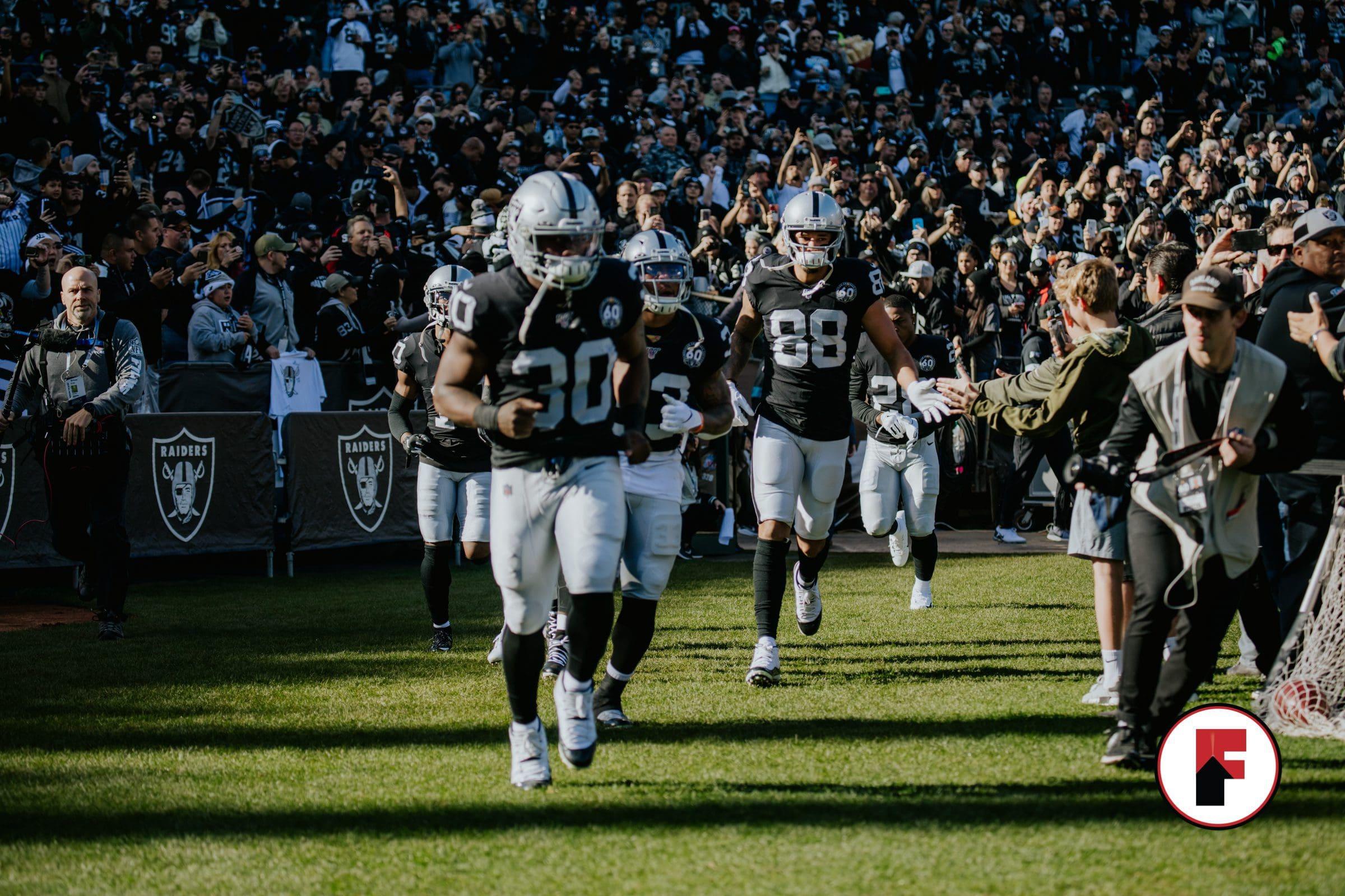 Silver and black, Las Vegas Raiders