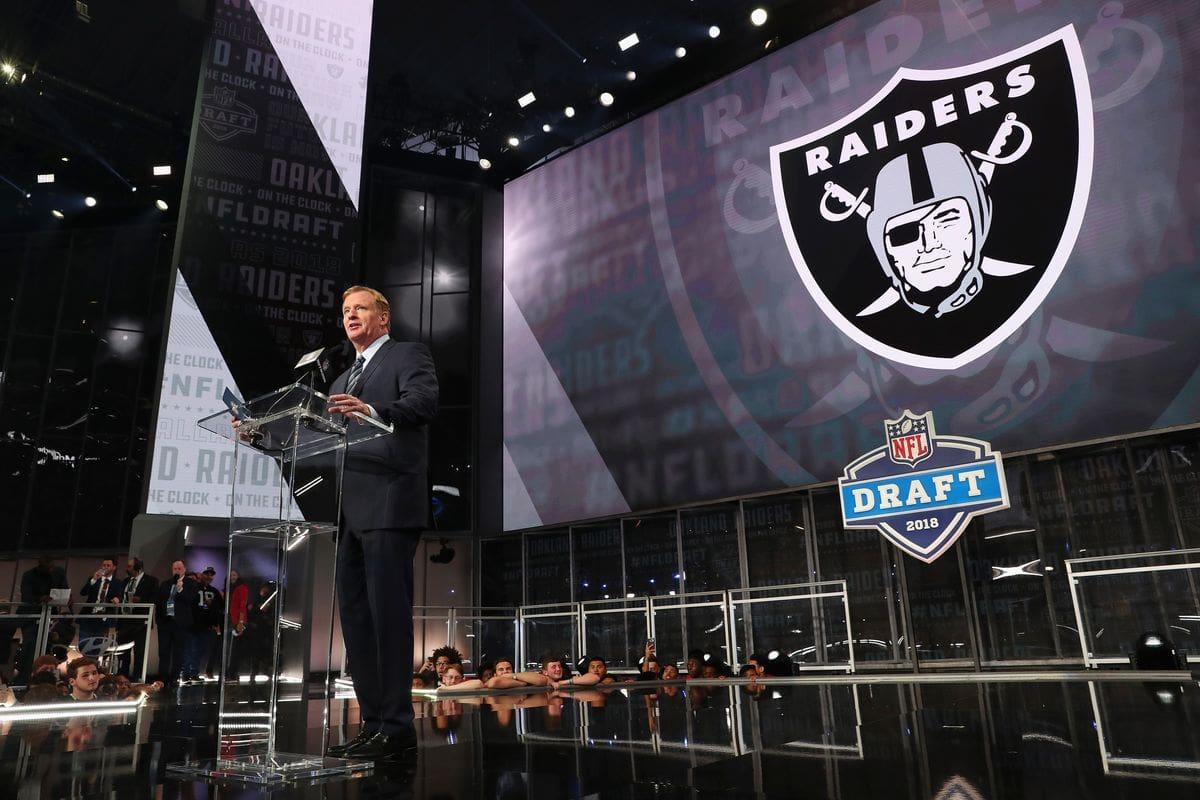 Silver and Black Las Vegas NFL Combine - Las Vegas Raiders Mock Draft