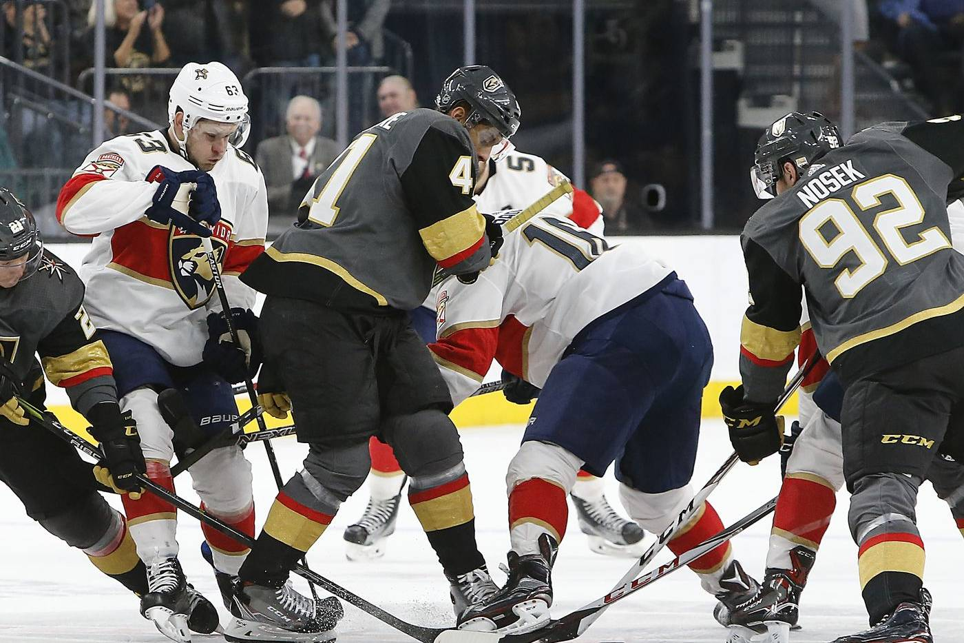 Golden Knights vs Panthers