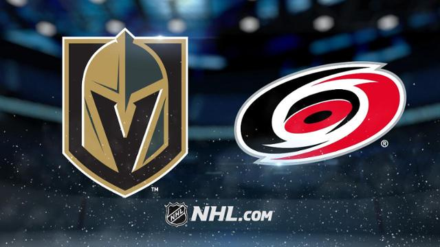 golden knights vs carolina hurricanes