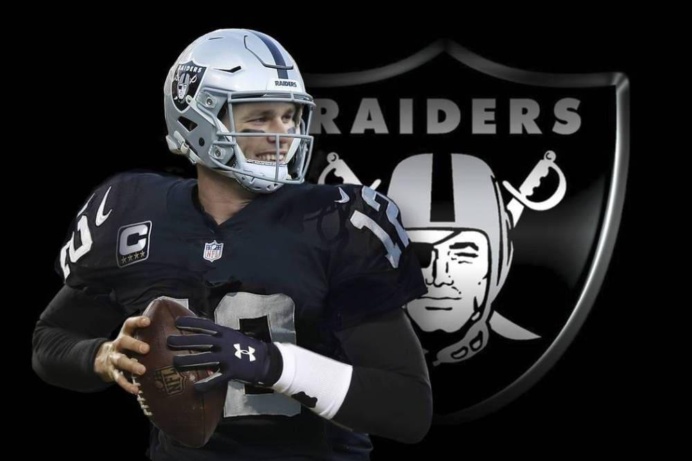 Las Vegas raiders and tom Brady