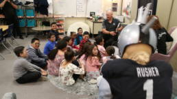 Las Vegas Raiders - Inspiring The Community #3 - Reading with The Raiders