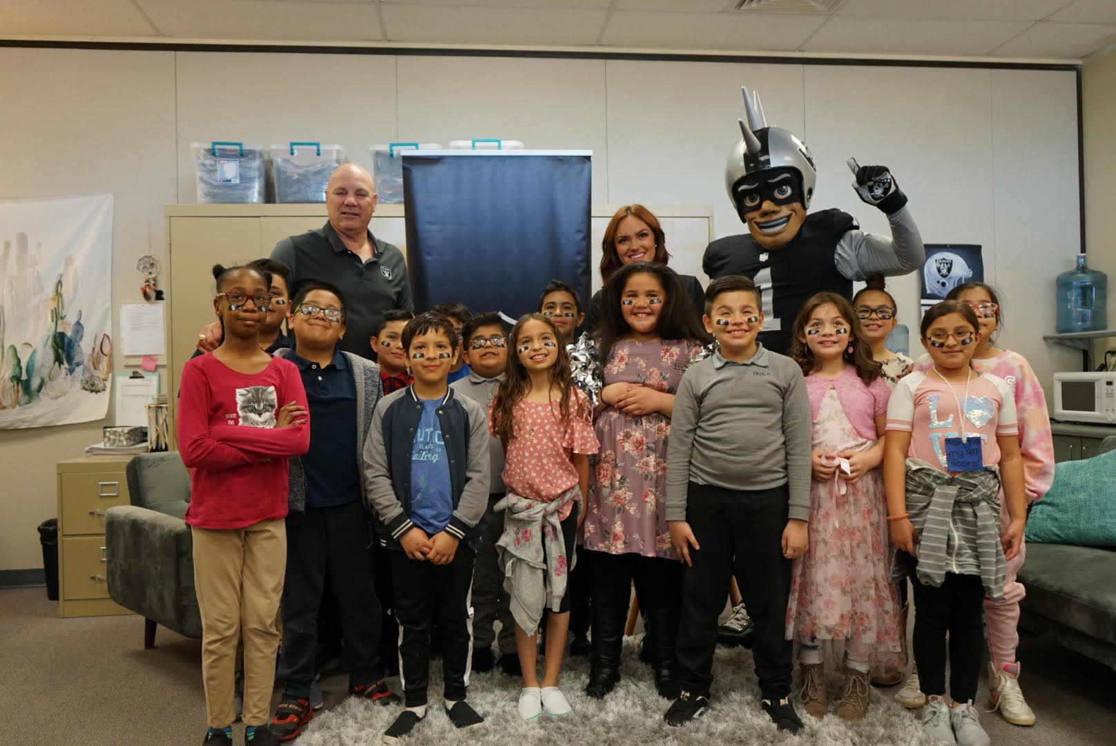 reading with the raiders