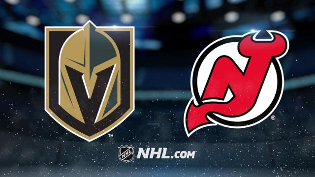 Golden Knights vs New Jersey Devils