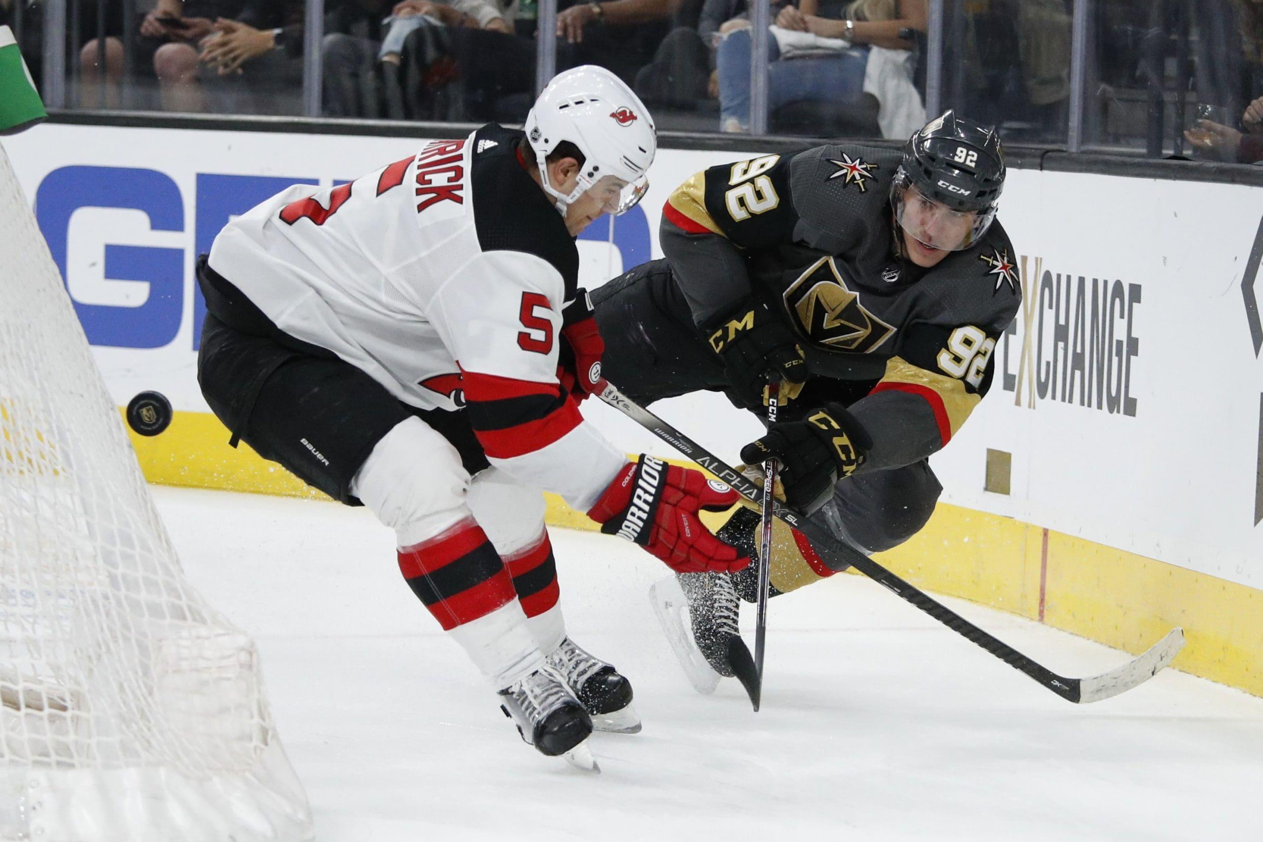 VGK vs New Jersey Devils