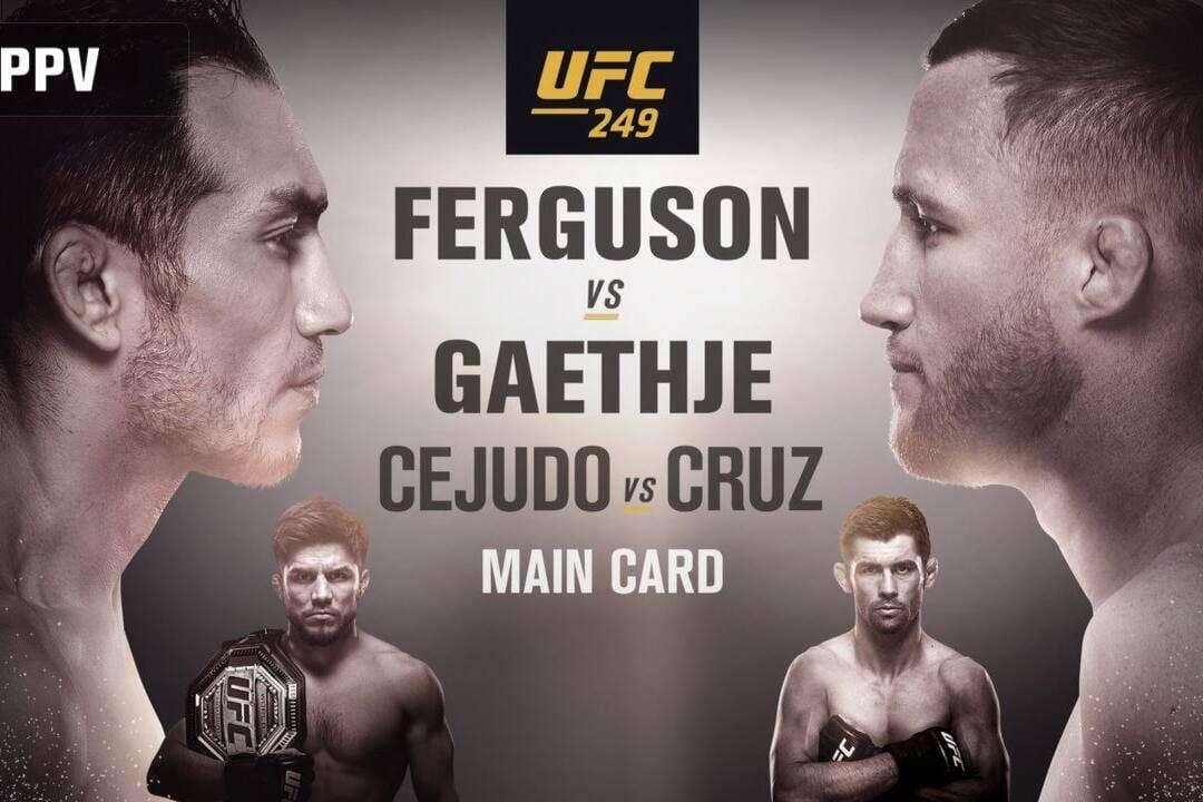 UFC 249 Ferguson vs Gaethje