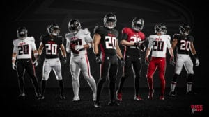 NFL new uniforms