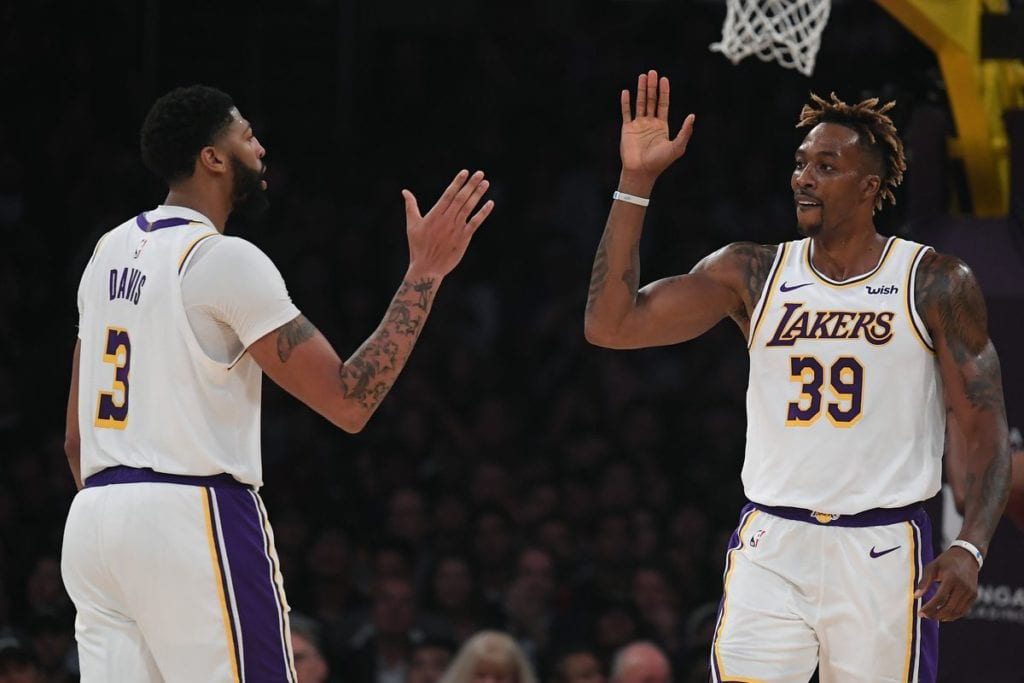Lakers best frontcourt in the NBA