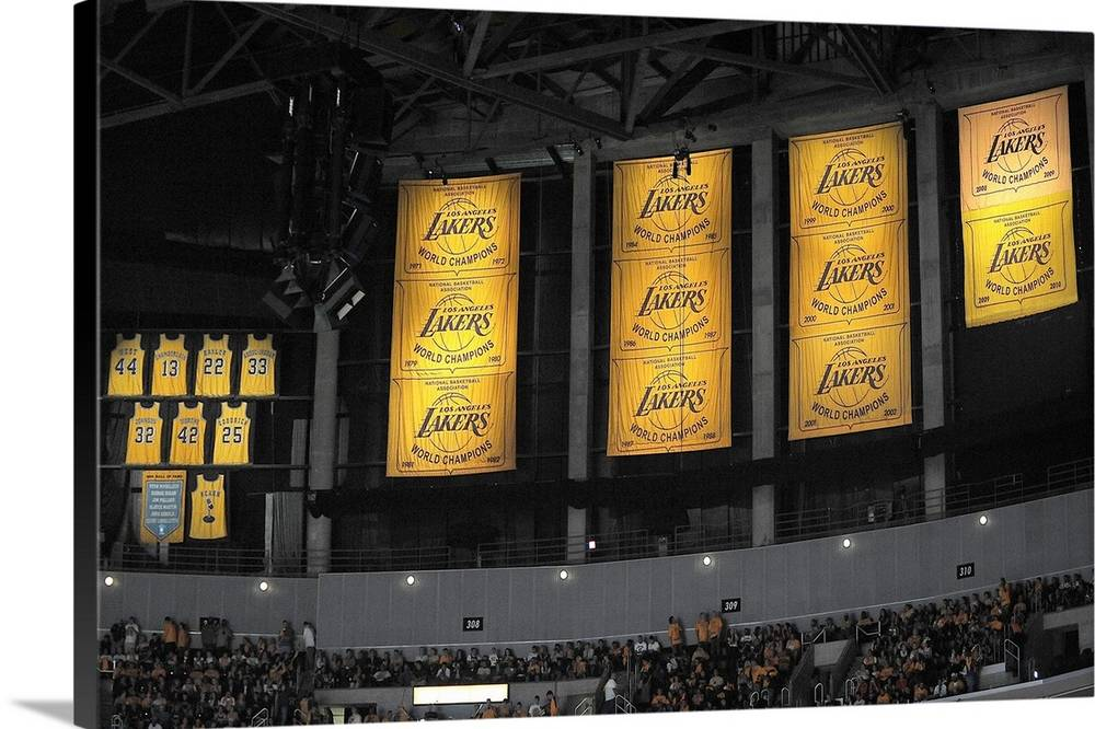 lakers championship Banner 17