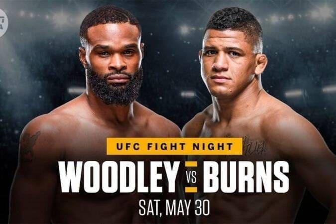 UFC on ESPN: Woodley Vs Burns Preview