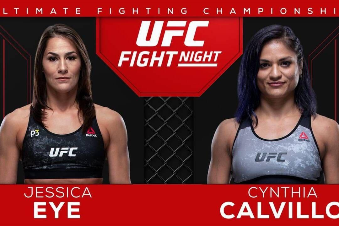 UFC Fight Night on ESPN: Calvillo vs Eye