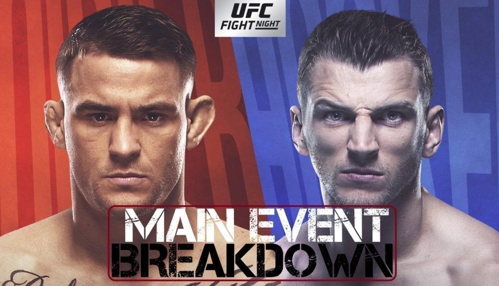 UFC - Poirier vs Hooker