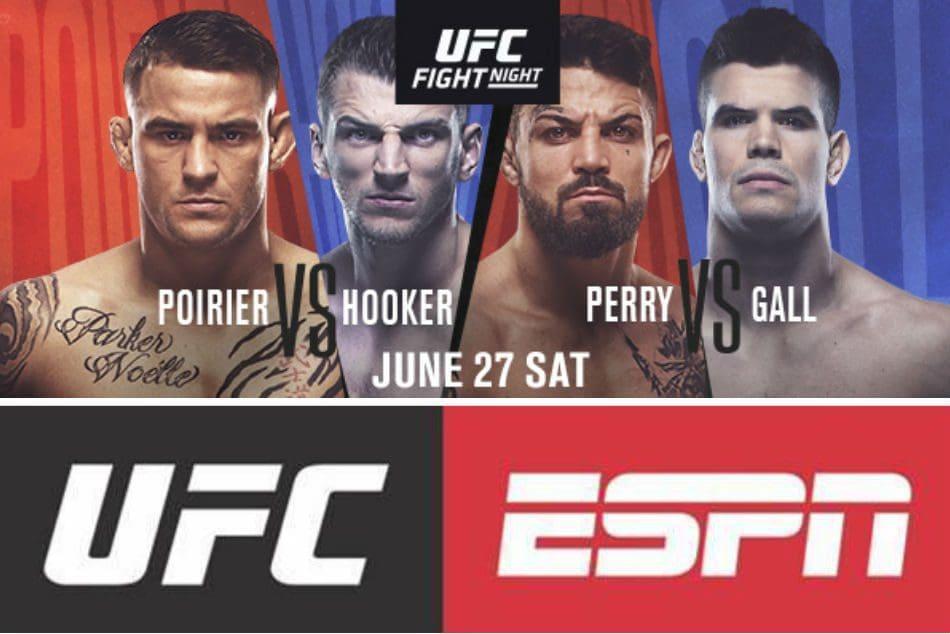 UFC poirier vs hooker