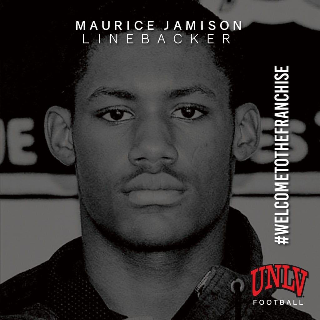 UNLV football recruiting - Maurice Jamison