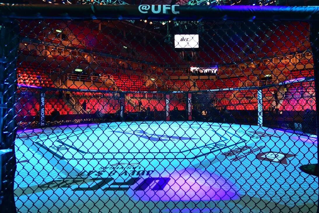 UFC without fans