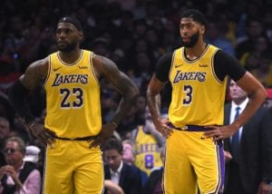 NBA Restart NBA's best duo  LeBron James and Anthony Davis