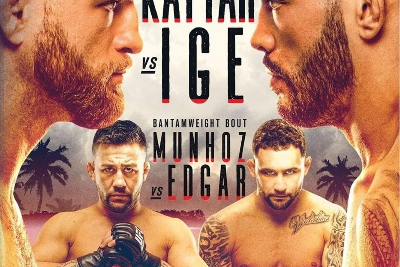 UFC Fight Night on ESPN 13 Kattar vs Ige