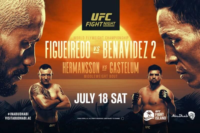 UFC Fight night Figueiredo vs Benavidez 2