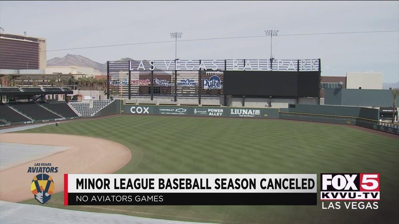Minor League Baseball canceled