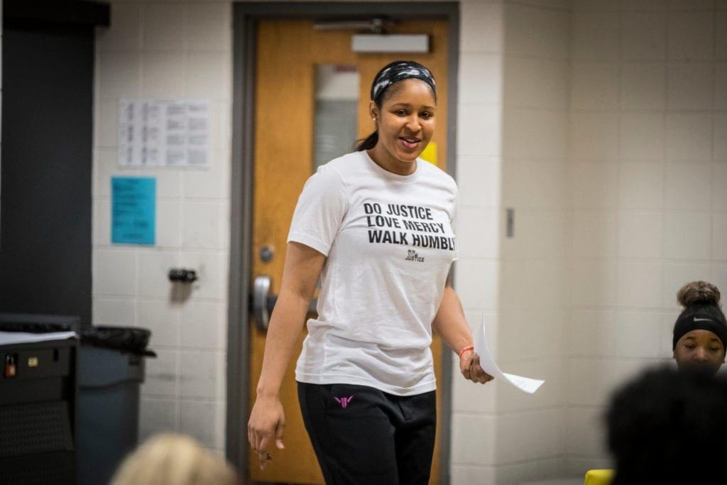 Maya Moore black girl magic Jonathan irons prison industrial complex