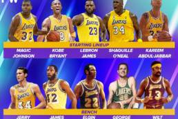 The Los Angeles Lakers All-Time Starting 5