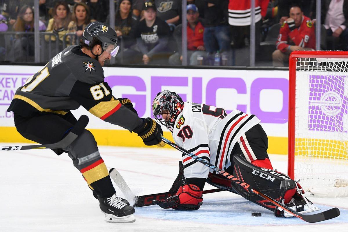 Golden Knights vs Blackhawks