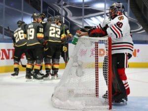 Golden Knighhts vs Blackhawks