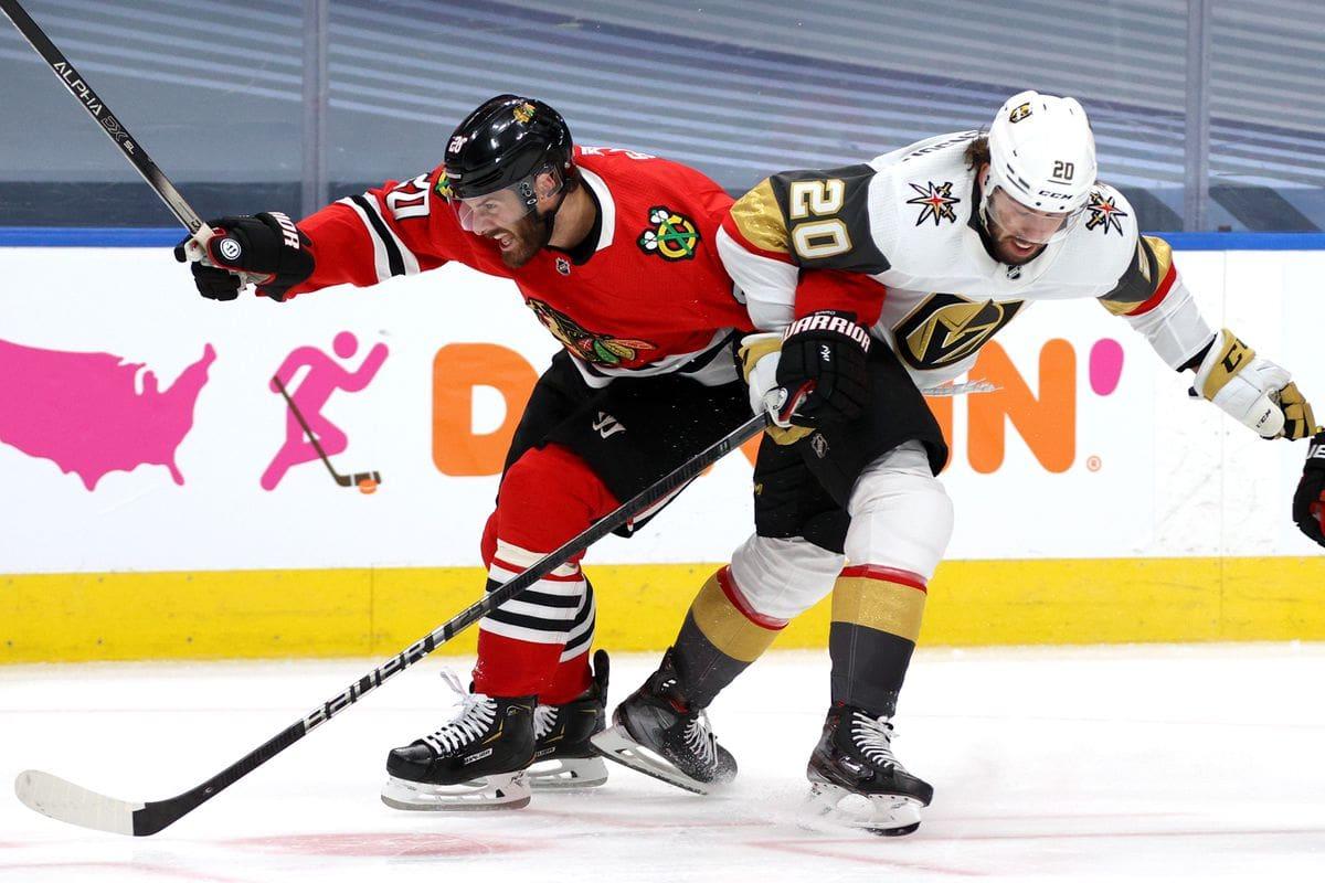 VGK vs Blackhawks game 4 recap