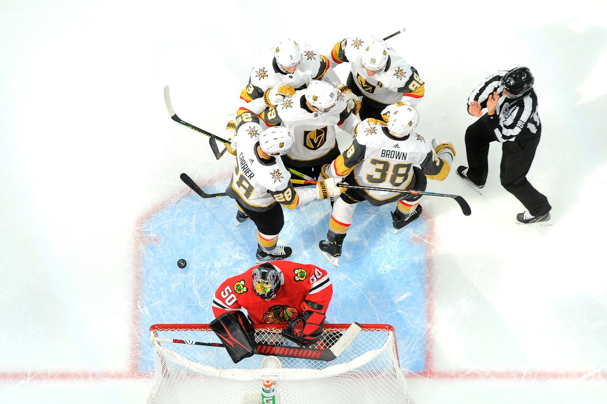 Golden Knights vs Blackhawks game 5 preview