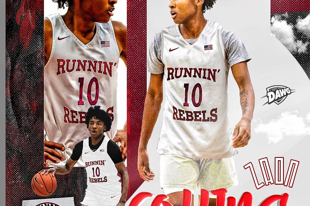 4-Star 2021 Local Point Guard Zaon Collins Commits to UNLV