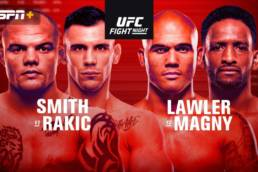 Match Preview: UFC Fight Night - Smith vs Rakic - 8/29/2020