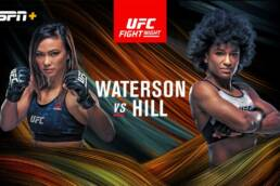 Match Preview: UFC Fight Night: Waterson vs Hill - 9/12/2020