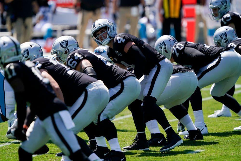 Raiders vs Panthers Raiders vs Patriots