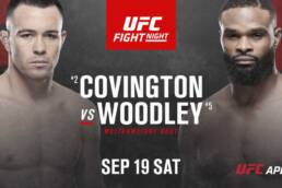 Match Preview: UFC Fight Night: Covington  vs Woodley - 9/19/2020