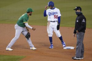 Dodgers vs Athletics