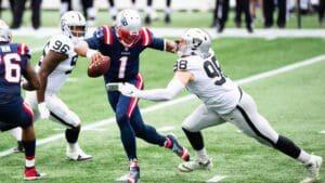 Raiders vs Patriots