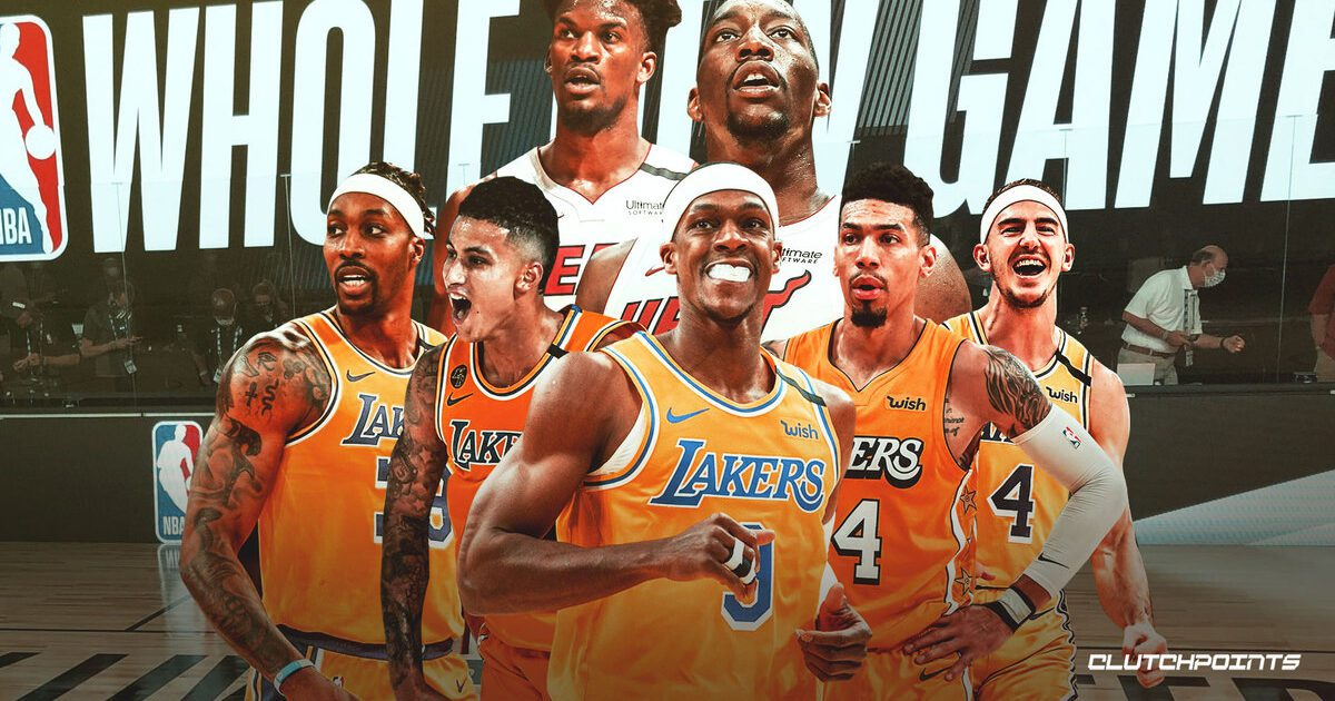 New NBA Finals Preview: Lakers Vs Heat - Game 1 ...
