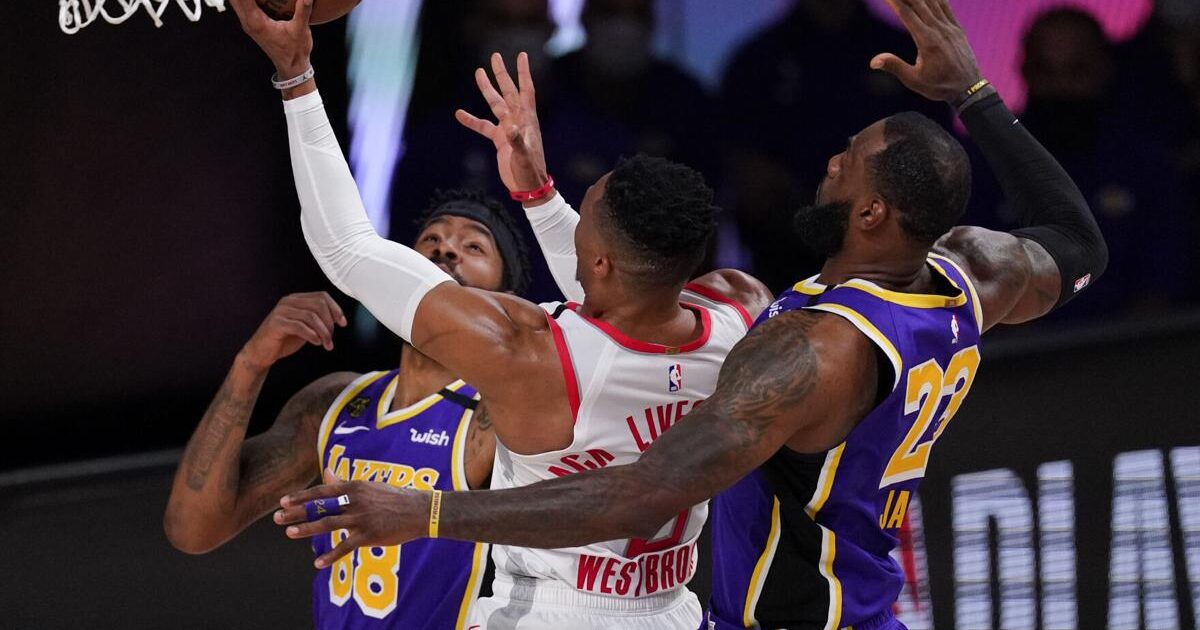 New Playoff Preview: Lakers Vs Rockets | Round 2 - Game 3 ...