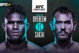 Match Preview: UFC Fight Night: Overeem vs Sakai - 9/5/2020