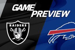 New Game Preview: Raiders vs Bills - Week 4 - 10/4/2020