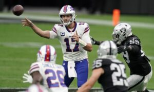 Raiders vs Bills